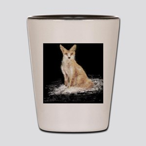 The Lonely Fox Shot Glass