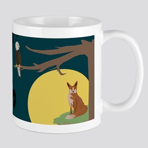 Silence Night by the Fox and the Eagle Mugs