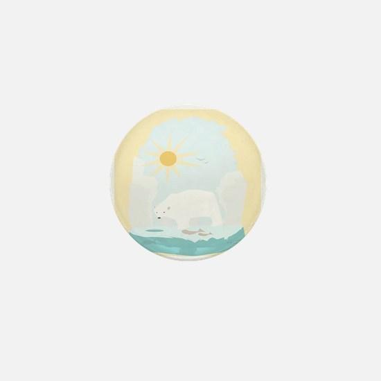 The Polar Bear 2 Mini Button