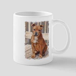 Staffordshire Bull Terrier Puppy Mugs