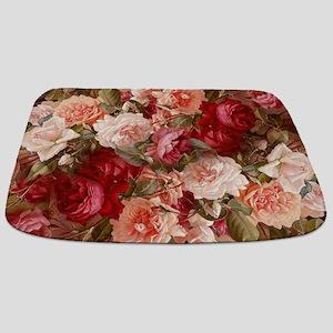 Floral Pink Roses Bathmat