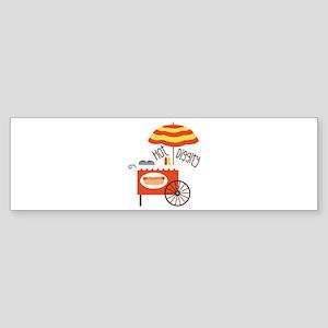 Hot Diggity Bumper Sticker