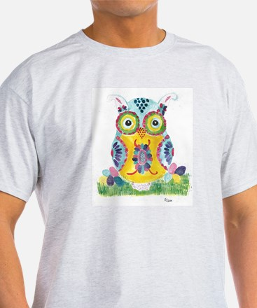 Easter Owl 1 T-Shirt