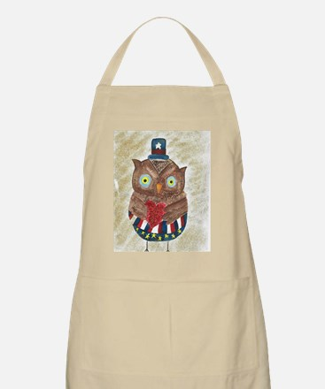 July Owl 1 Apron