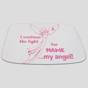 Pink Angel Bathmat