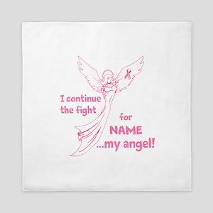 Pink Angel Queen Duvet