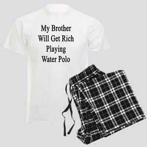 My Brother Will Get Rich Play Men's Light Pajamas