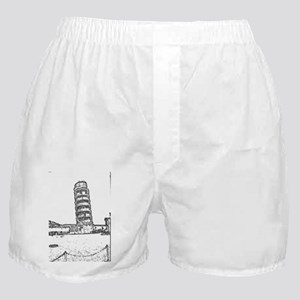 The Leaning Tower Of Pisa Boxer Shorts