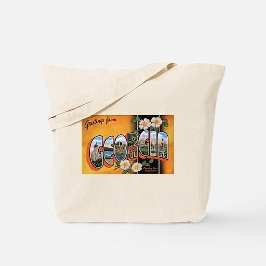 Georgia Greetings Tote Bag