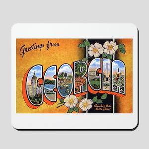 Georgia Greetings Mousepad