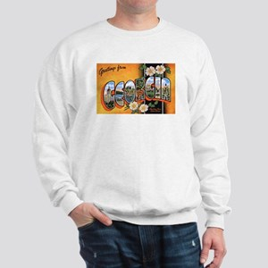 Georgia Greetings (Front) Sweatshirt