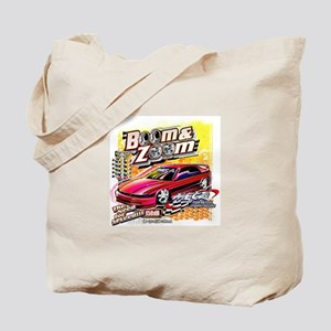 Boom & Zoom Graphic Tote Bag