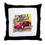 Boom & Zoom Graphic Throw Pillow