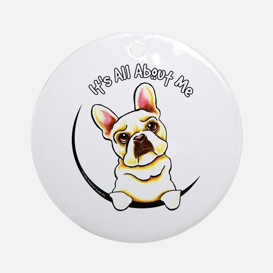 Fawn Frenchie IAAM Ornament (Round)