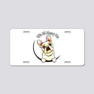 Fawn Frenchie IAAM Aluminum License Plate
