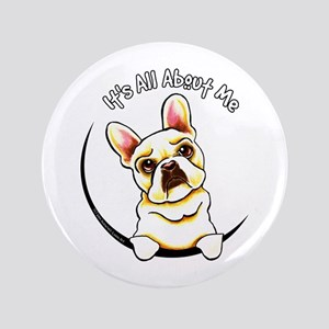 """Fawn Frenchie IAAM 3.5"""" Button"""