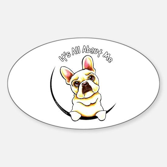 Fawn Frenchie IAAM Sticker (Oval)