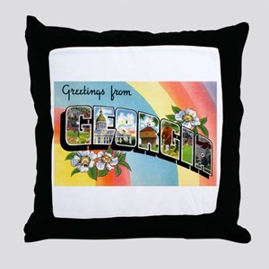 Georgia Greetings Throw Pillow