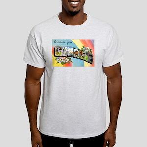 Georgia Greetings (Front) Light T-Shirt