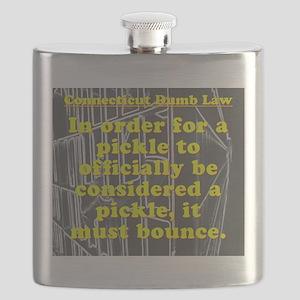 Connecticut Dumb Law #3 Flask