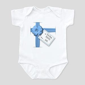A Gift from God Blue Infant Bodysuit
