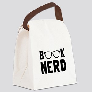 Book Nerd Canvas Lunch Bag