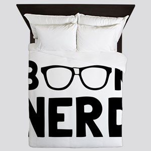 Book Nerd Queen Duvet