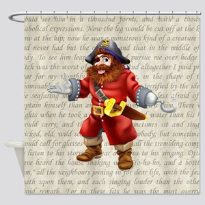 PIRATES LIFE FOR ME Shower Curtain