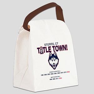 UConn Titletown Canvas Lunch Bag