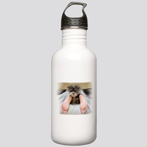 Yorkie Between Feet Stainless Water Bottle 1.0L
