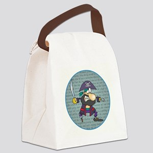 IT'S A PIRATES LIFE FOR ME Canvas Lunch Bag