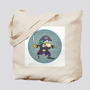IT'S A PIRATES LIFE FOR ME Tote Bag