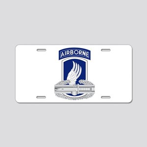 173rd Airborne CAB Aluminum License Plate