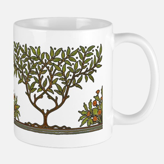 William Morris Vintage Tree Floral Design Mugs