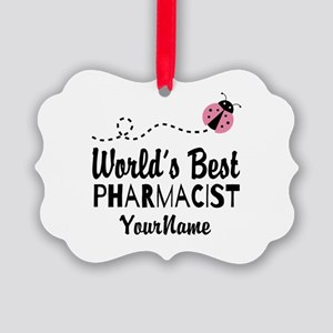 World's Best Pharmacist Picture Ornament
