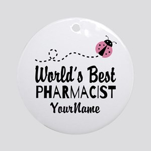 World's Best Pharmacist Ornament (Round)