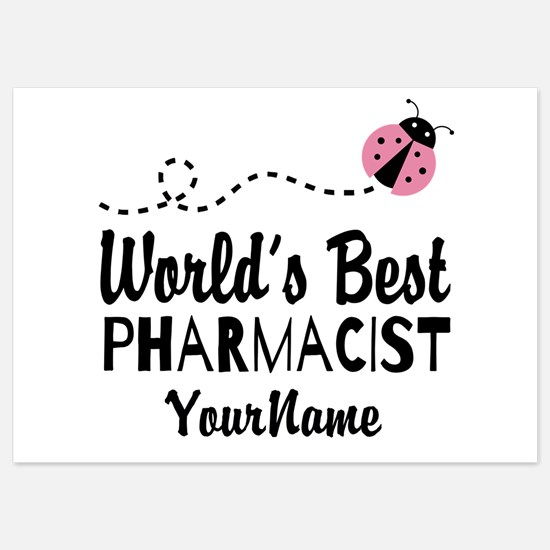 World's Best Pharmacist 5x7 Flat Cards