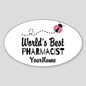 World's Best Pharmacist Sticker (Oval)
