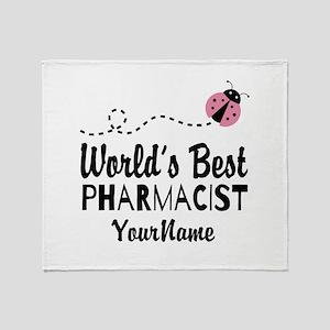 World's Best Pharmacist Throw Blanket