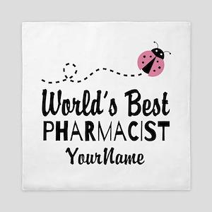 World's Best Pharmacist Queen Duvet
