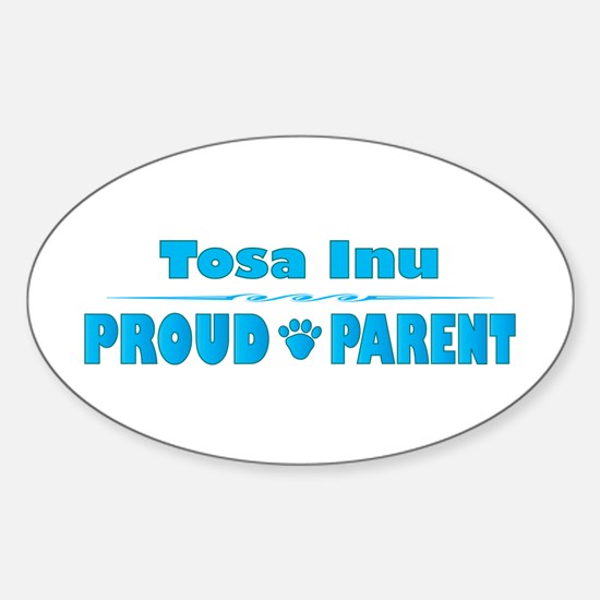 Tosa Parent Oval Decal