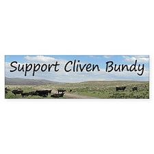 Support Cliven Bundy Bumper Sticker
