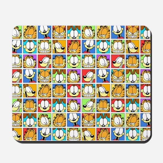 Garfield Face Time Mousepad