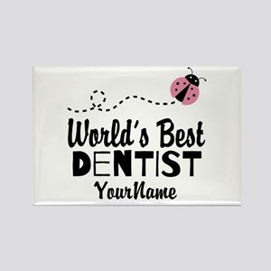 World's Best Dentist Rectangle Magnet
