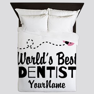 World's Best Dentist Queen Duvet