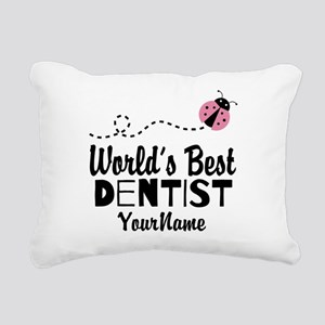 World's Best Dentist Rectangular Canvas Pillow
