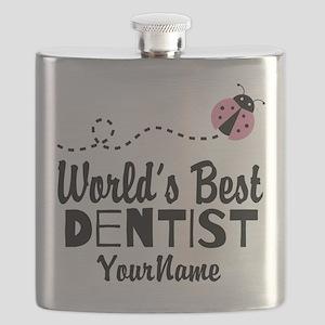 World's Best Dentist Flask