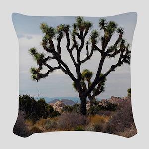 Joshua Tree Woven Throw Pillow