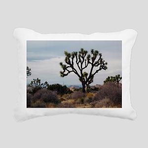 Joshua Tree Rectangular Canvas Pillow