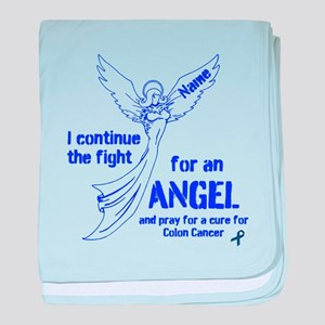 Blue Angel baby blanket